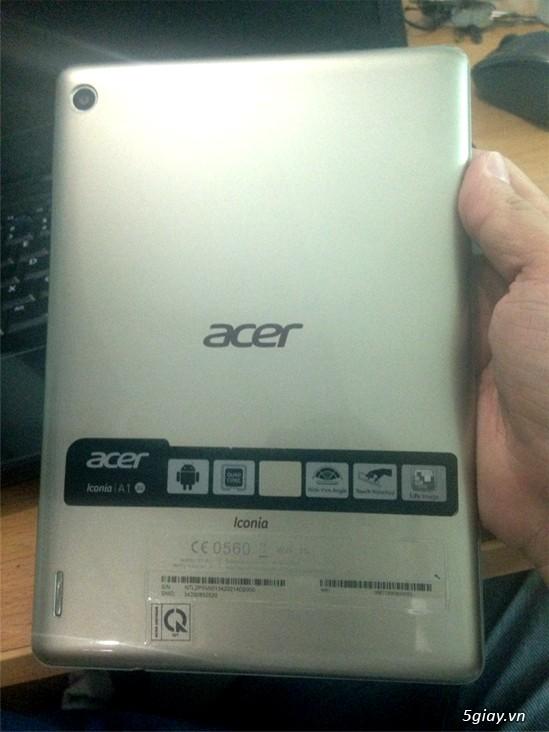 Bán máy tính bảng Acer Iconia A1-811