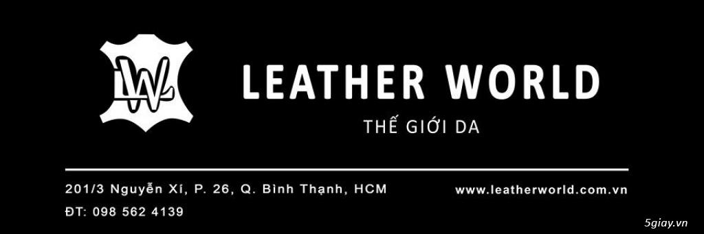 Khai Trương Shop Bóp Ví, Thắt Lưng Da Leather Wolrd Big Sale 30% - 49