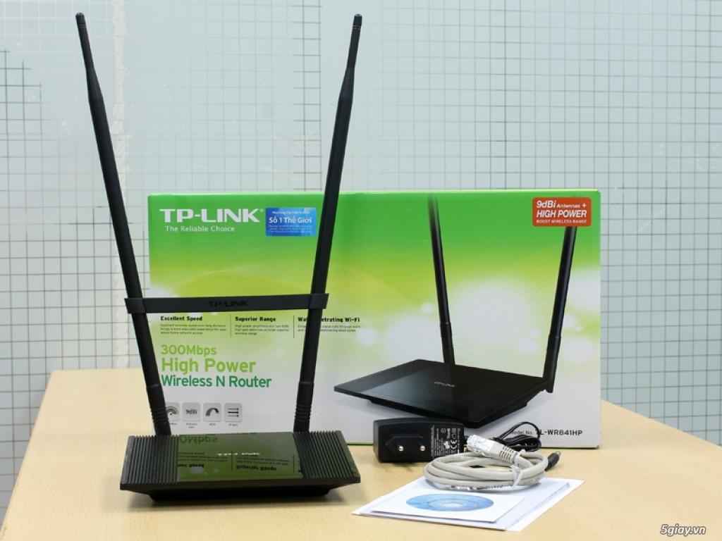 Đập hộp TP-LINK WR841HP 9dBi: Wi-Fi xuyên tường công suất cao - 134559