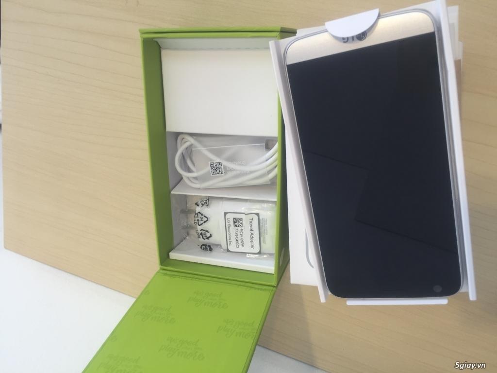 Cần bán lại LG G5 máy mới 100% máy màu bạc bao đẹp , cấu hình chạy cực nhanh - 1