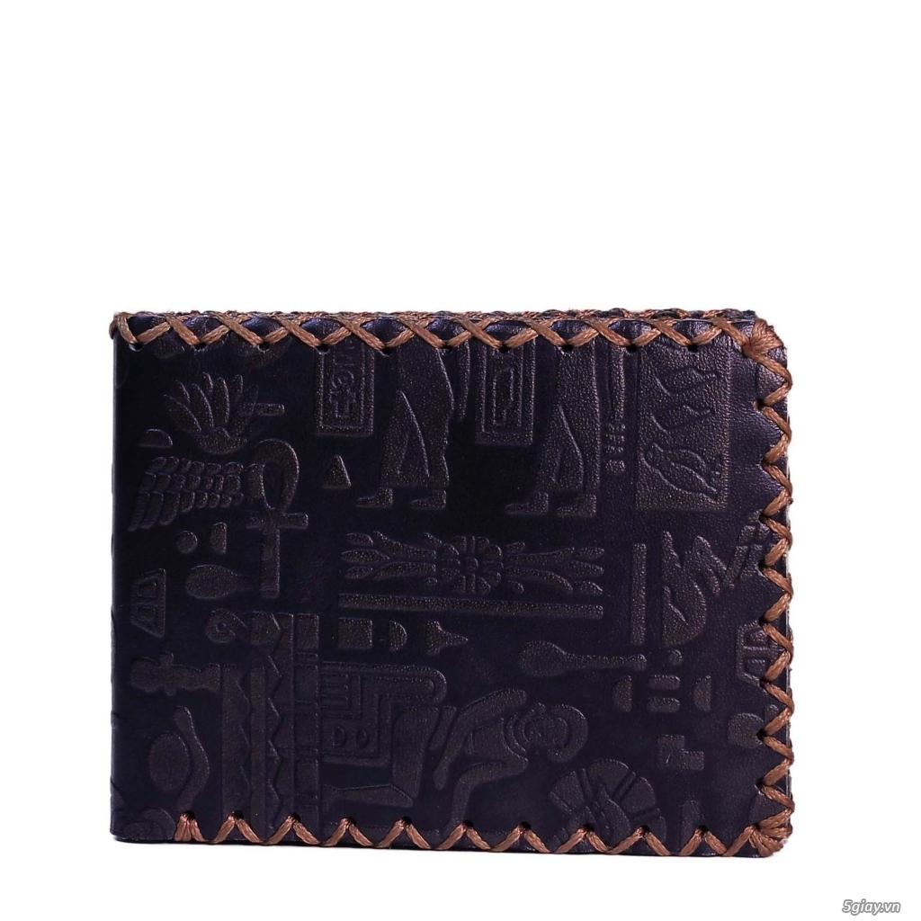 Bóp da Handmade độc đáo. da thật 100%. bảo hành vĩnh viễn. <BEAR SHOP> - 31