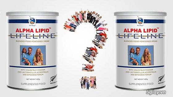 Sữa non Alpha Lipid LifeLine giá từ 899,000 vnđ