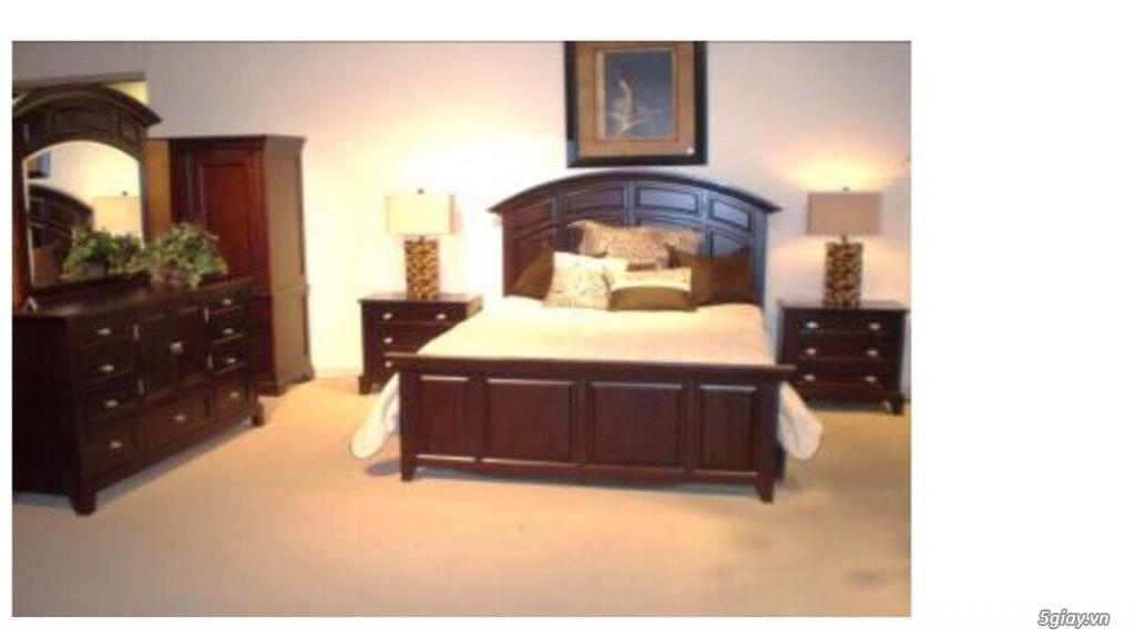 Nội Thất Tây Hưng Thịnh: Thanh lý giường tủ bàn ghế  bằng gỗ Sồi xuất khẩu Hàn Quốc - 46