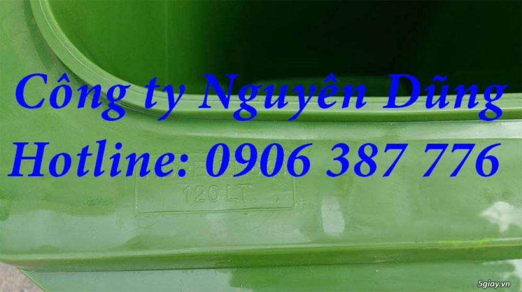 Thùng rác composite, Thùng rác nhựa composite 240L|| Giá Rẻ - 6