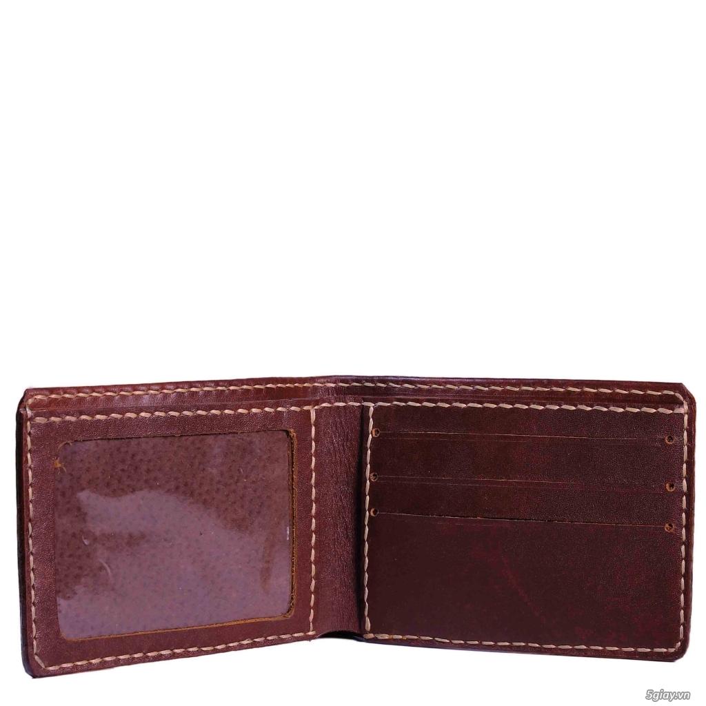 Bóp da Handmade độc đáo. da thật 100%. bảo hành vĩnh viễn. <BEAR SHOP> - 30