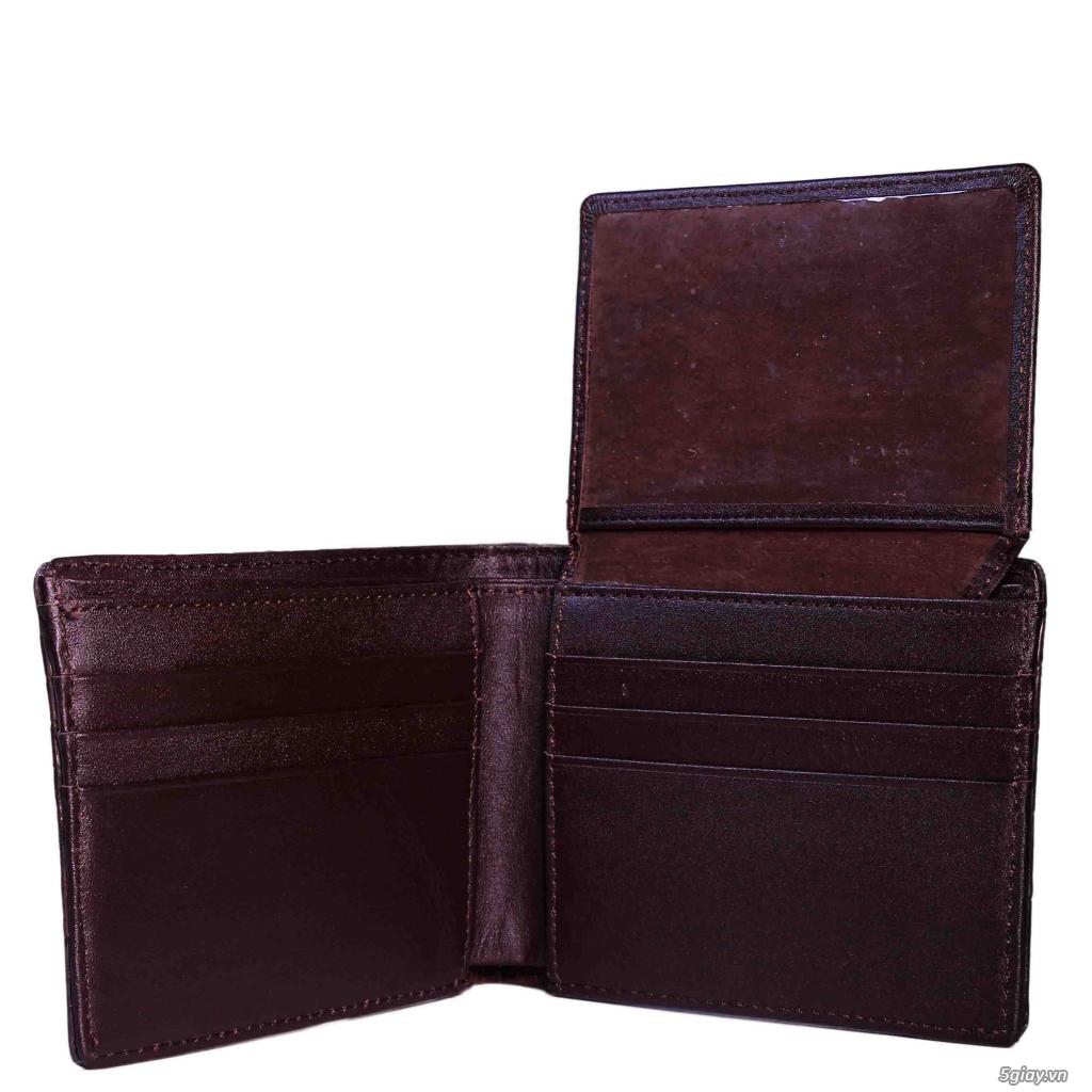 Bóp da Handmade độc đáo. da thật 100%. bảo hành vĩnh viễn. <BEAR SHOP> - 4