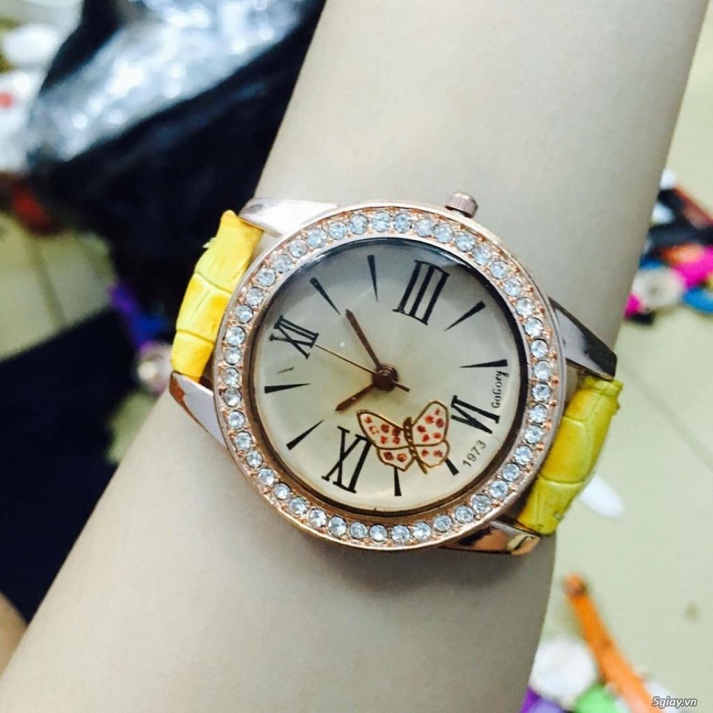 Zalo 0981662025. Đồng hồ  thời trang mới. giá sỉ 39k/cái. Có gần 200 kiểu . Web bansisaigon.com - 2