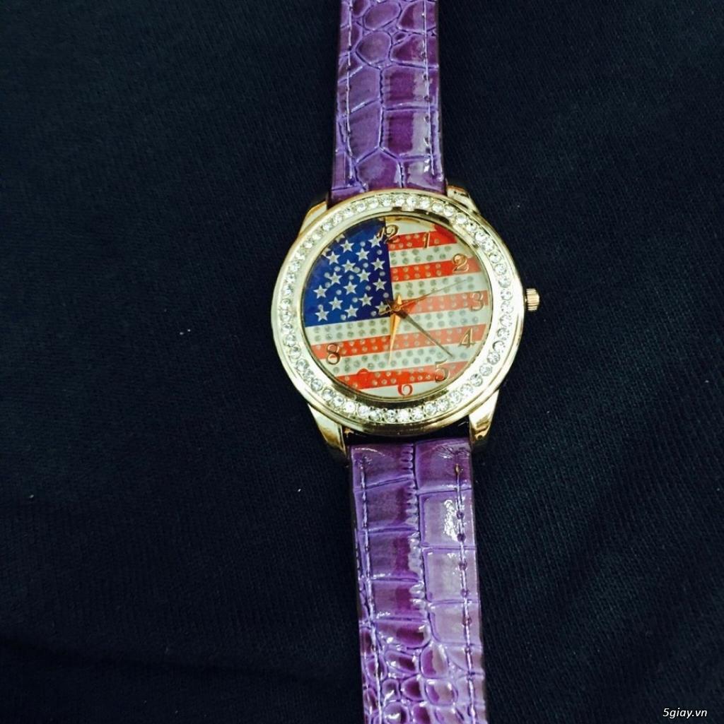 Zalo 0981662025. Đồng hồ  thời trang mới. giá sỉ 39k/cái. Có gần 200 kiểu . Web bansisaigon.com - 23