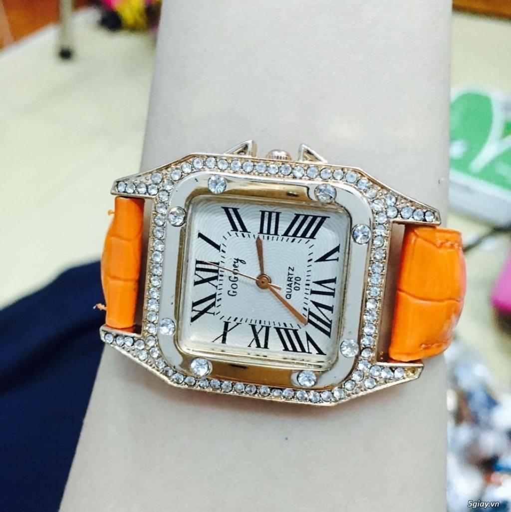 Zalo 0981662025. Đồng hồ  thời trang mới. giá sỉ 39k/cái. Có gần 200 kiểu . Web bansisaigon.com - 9