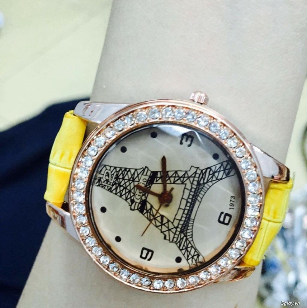 Zalo 0981662025. Đồng hồ  thời trang mới. giá sỉ 39k/cái. Có gần 200 kiểu . Web bansisaigon.com - 28