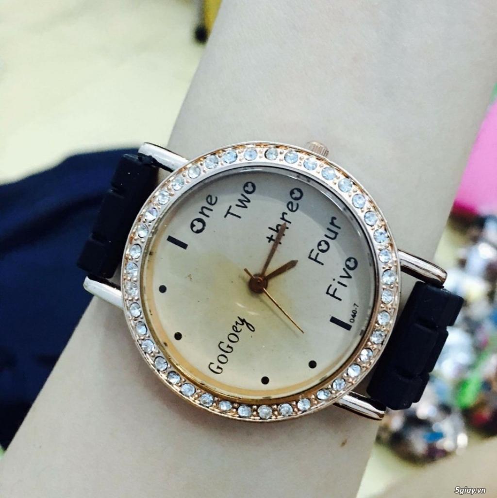 Zalo 0981662025. Đồng hồ  thời trang mới. giá sỉ 39k/cái. Có gần 200 kiểu . Web bansisaigon.com - 41