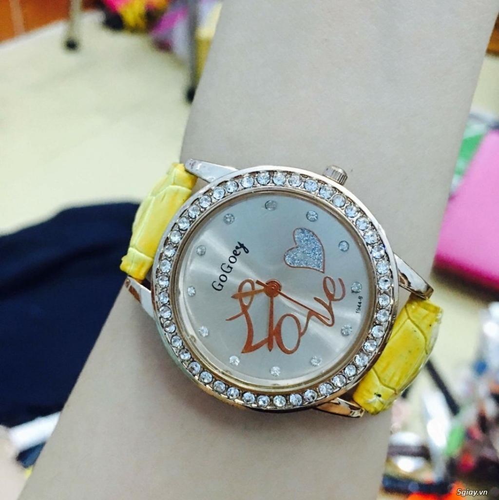 Zalo 0981662025. Đồng hồ  thời trang mới. giá sỉ 39k/cái. Có gần 200 kiểu . Web bansisaigon.com - 1