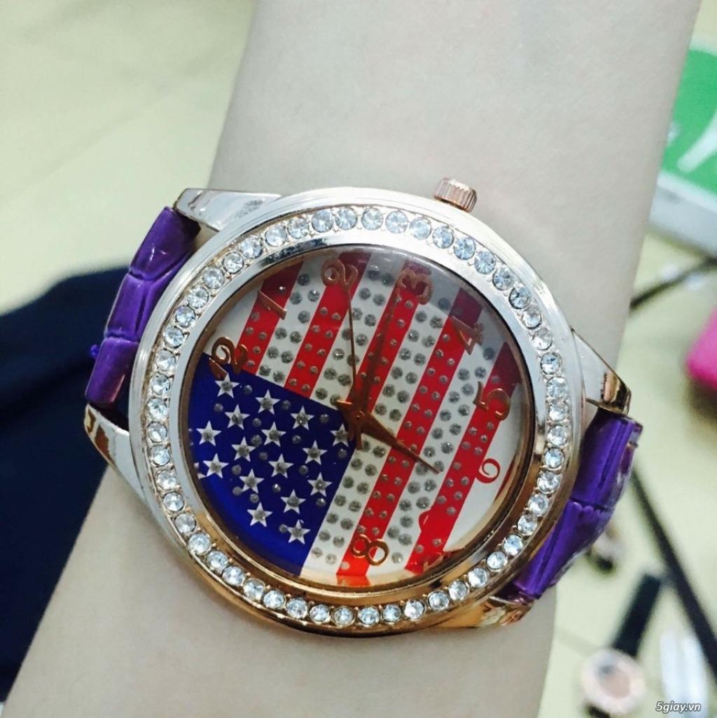 Zalo 0981662025. Đồng hồ  thời trang mới. giá sỉ 39k/cái. Có gần 200 kiểu . Web bansisaigon.com - 8