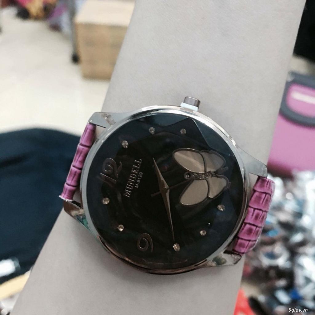 Zalo 0981662025. Đồng hồ  thời trang mới. giá sỉ 39k/cái. Có gần 200 kiểu . Web bansisaigon.com - 5