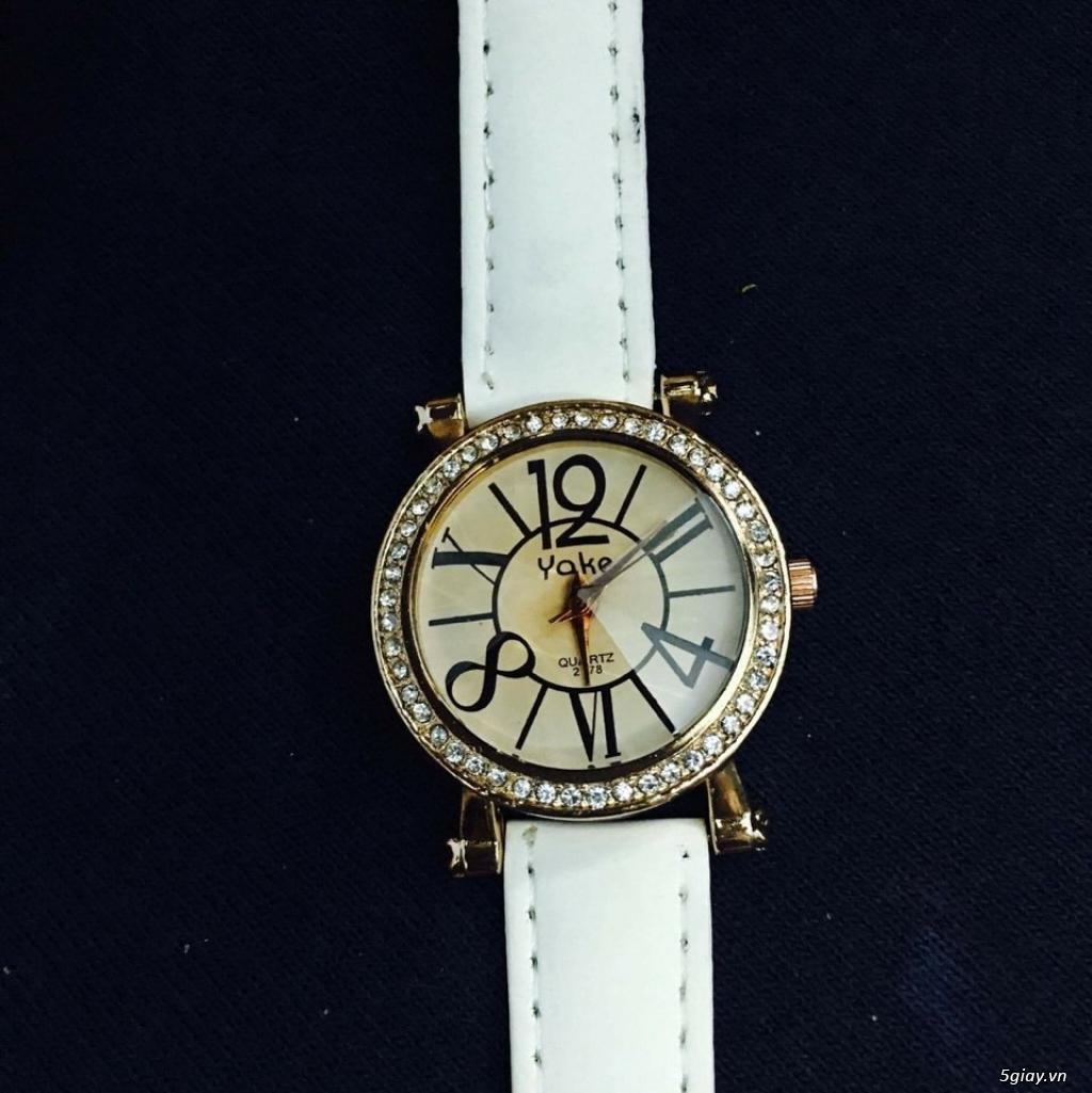 Zalo 0981662025. Đồng hồ  thời trang mới. giá sỉ 39k/cái. Có gần 200 kiểu . Web bansisaigon.com - 18