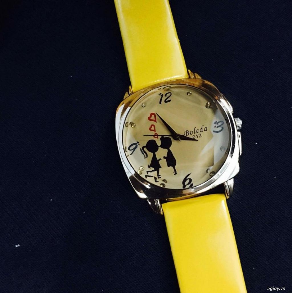 Zalo 0981662025. Đồng hồ  thời trang mới. giá sỉ 39k/cái. Có gần 200 kiểu . Web bansisaigon.com - 12