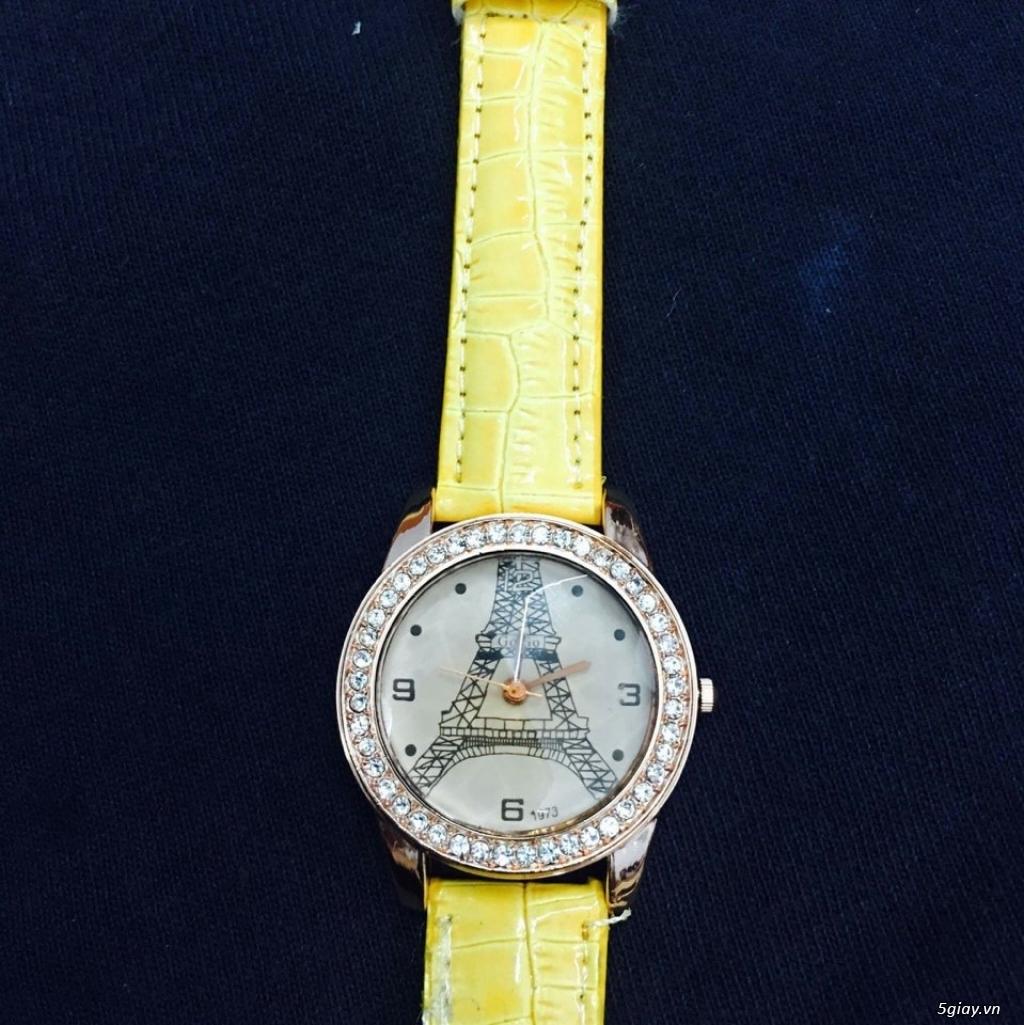 Zalo 0981662025. Đồng hồ  thời trang mới. giá sỉ 39k/cái. Có gần 200 kiểu . Web bansisaigon.com - 39