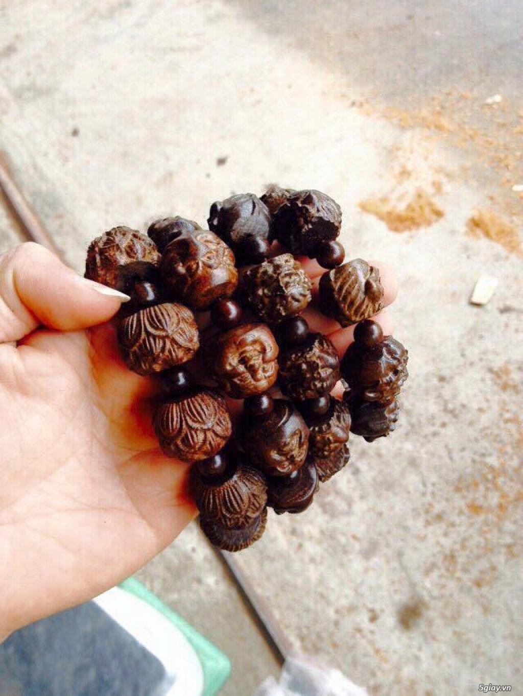 Vòng tay hạt gỗ sưu tầm các loại ạ