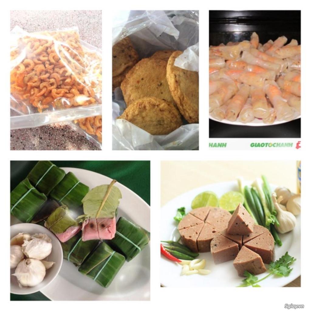 Đặc sản Quy Nhơn (Chả ram tôm đất, nem chả Chợ Huyện, chả cá, mực/cá lao rim,...)