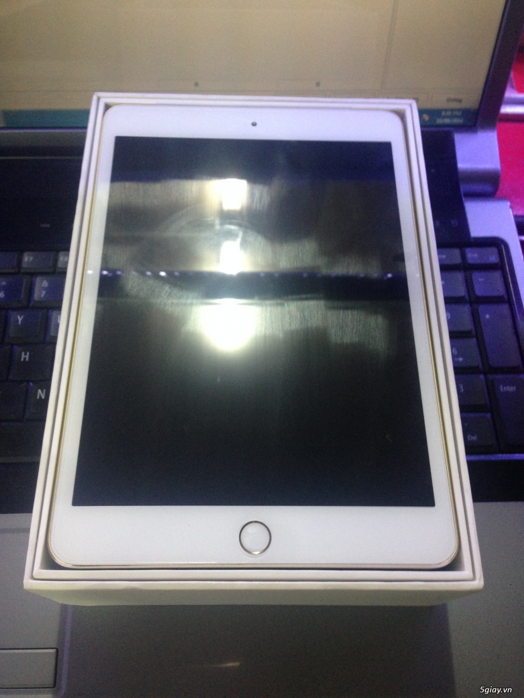 Ipad mini3 wifi 64G Gold - 1