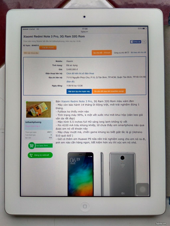 Ipad 4 16G màu trắng bản 4G - 3