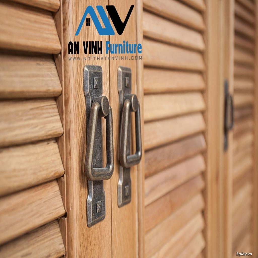 Tủ dép gỗ Sồi - Đơn giản, tiện lợi và chắc chắn - 2