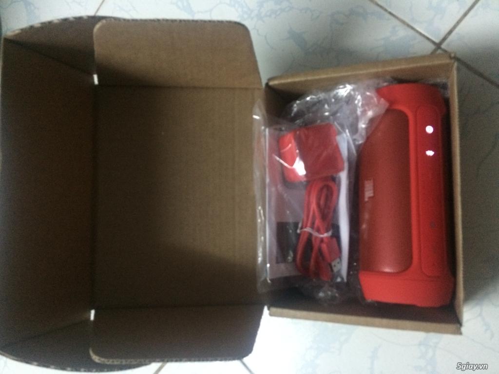 Loa bluetooth JBL Charge 2 (Đỏ siêu đẹp) xách tay Mỹ - New 100% - 3