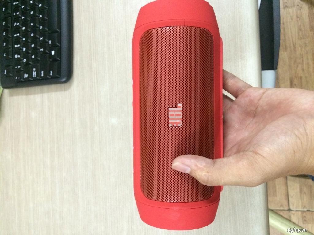 Loa bluetooth JBL Charge 2 (Đỏ siêu đẹp) xách tay Mỹ - New 100% - 4