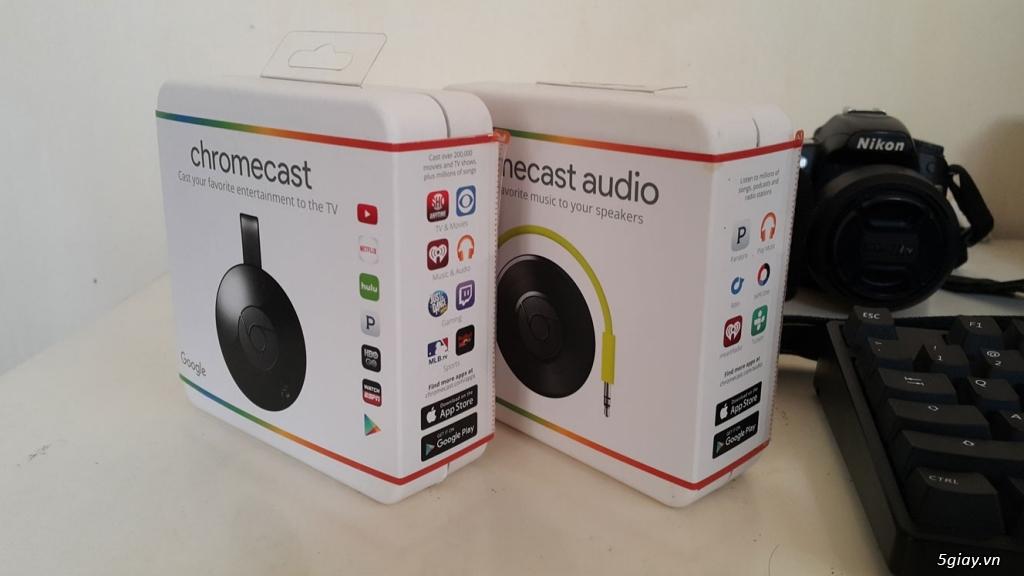 Bán Google Chromecast 2 HDMI Streaming Media Player, Mới 100% hàng Mỹ
