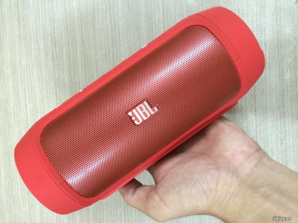 Loa bluetooth JBL Charge 2 (Đỏ siêu đẹp) xách tay Mỹ - New 100%