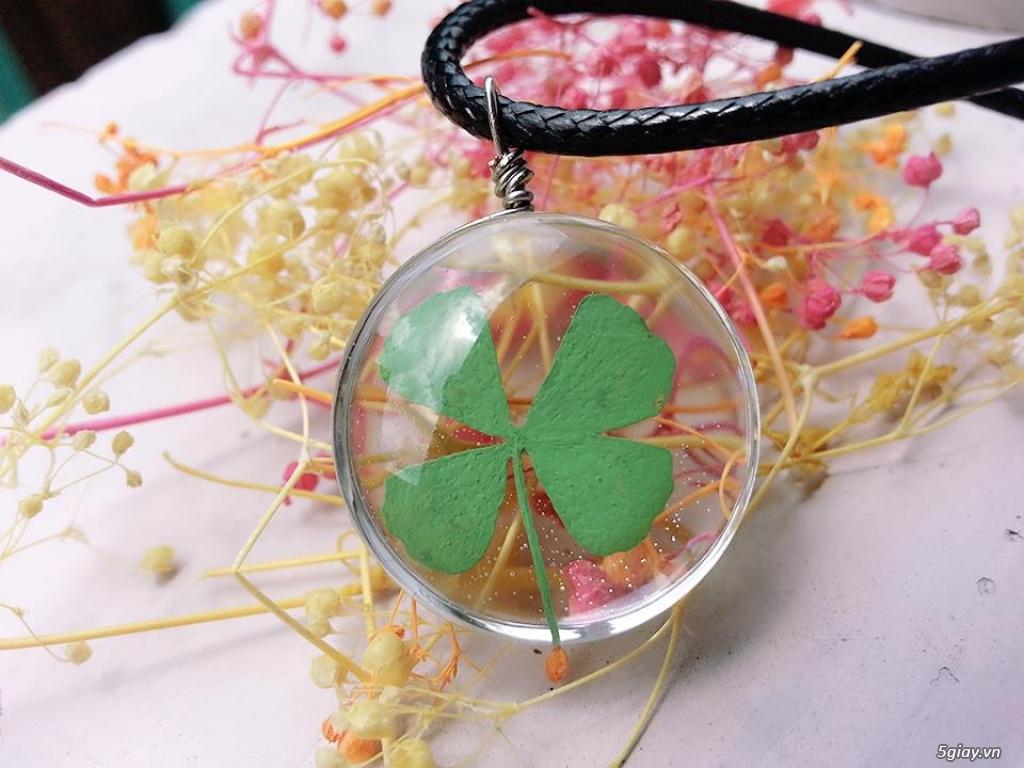 Trang sức phụ kiện handmade từ hoa lá - 27