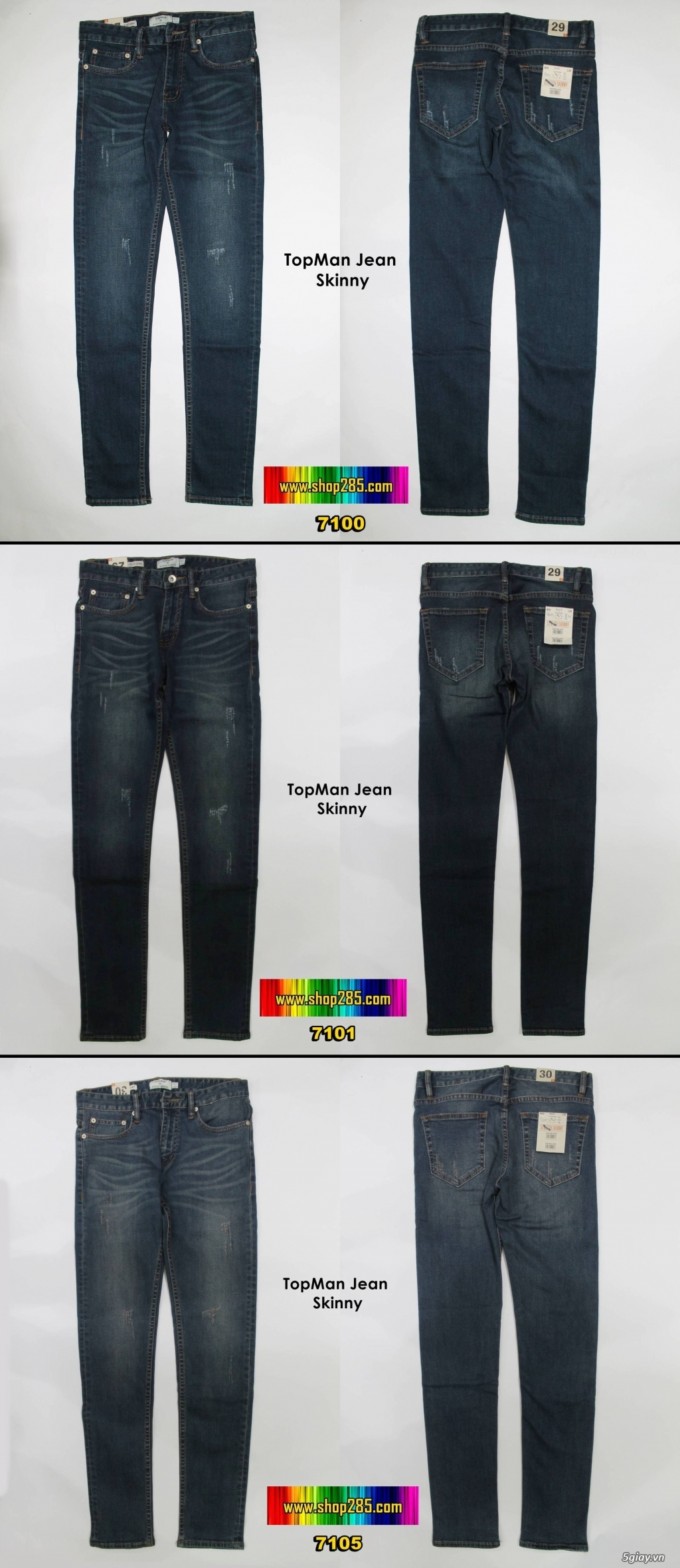 Shop285.com - Shop quần áo : Zara,Jules,Jake*s,,Hollister,Aber,CK,Tommy,Levis - 6
