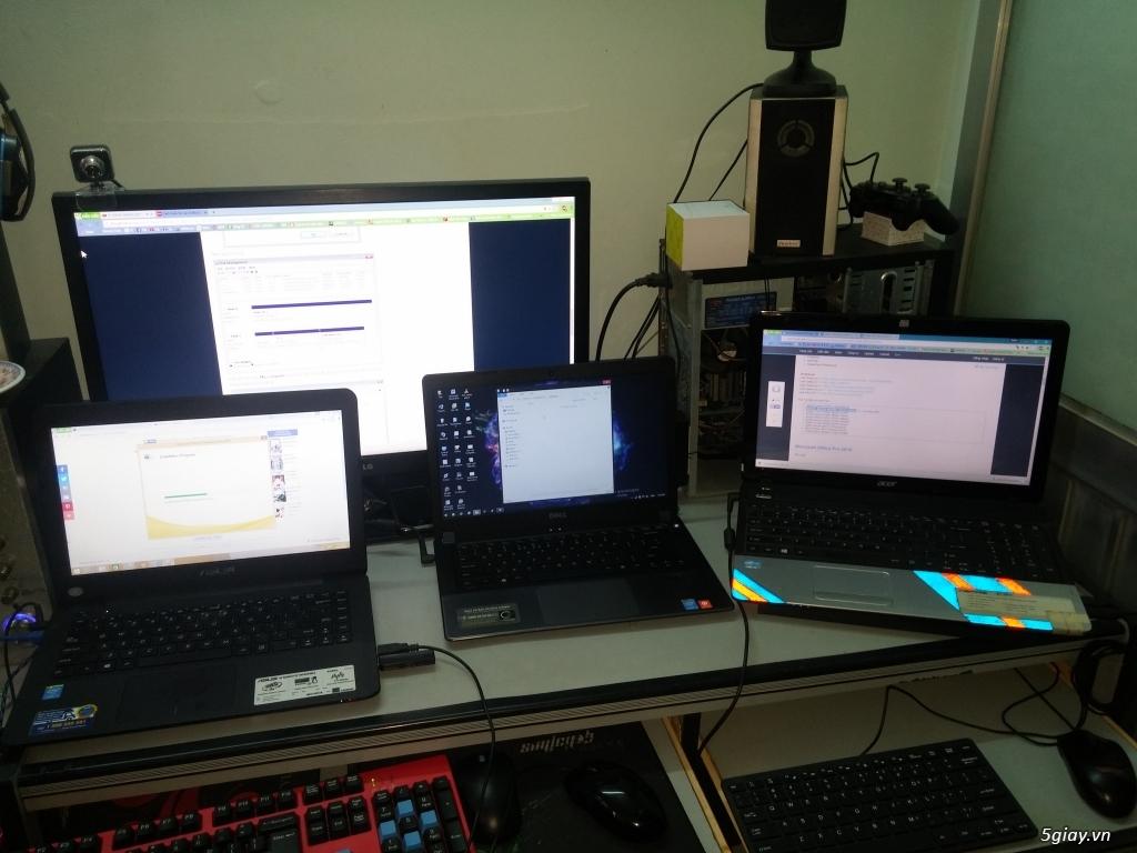 Tư vấn, sửa chữa, cài win, phần mềm, ứng dụng cho laptop, PC.... - 1