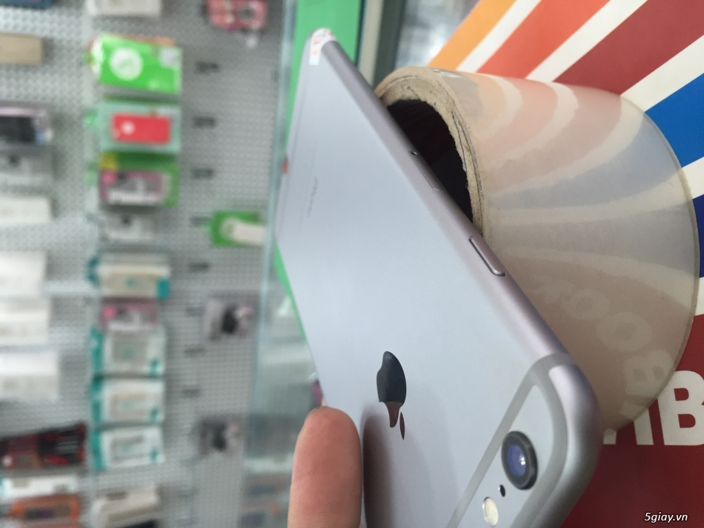 iPhone 6 Plus xám 16gb quốc tế bảo hành tới tháng 5/2017 - 6