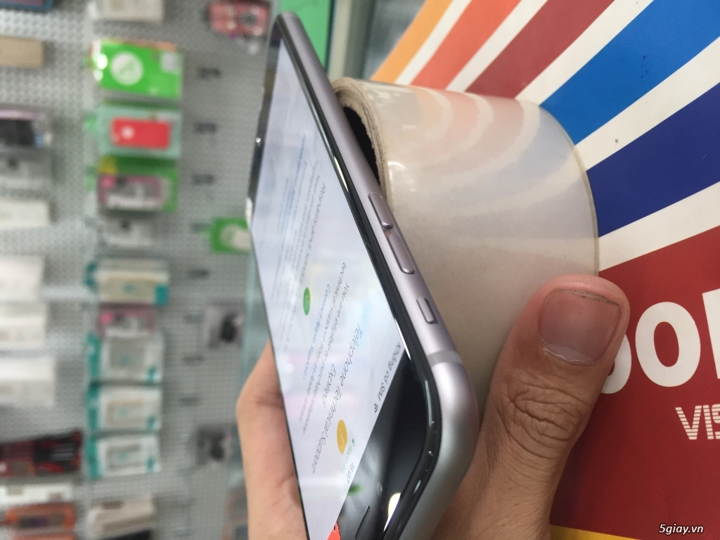 iPhone 6 Plus xám 16gb quốc tế bảo hành tới tháng 5/2017 - 3