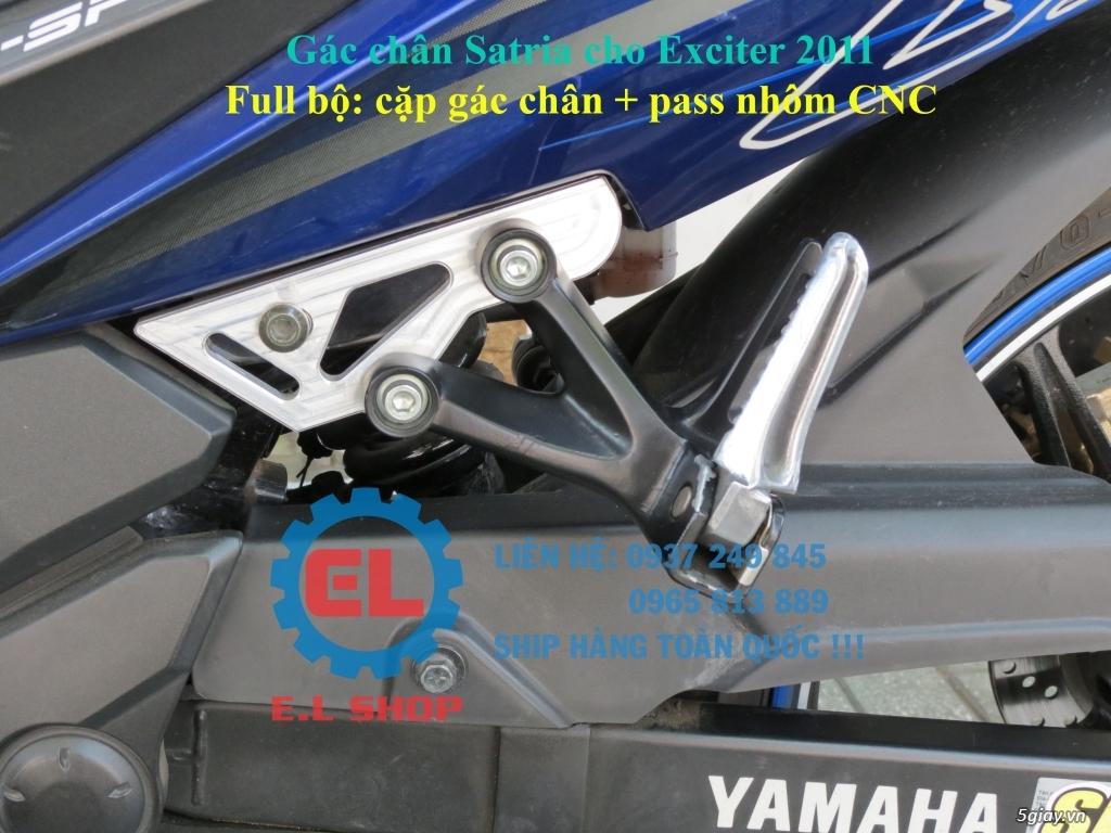 Phụ Tùng độ dàn lửa xe gắn máy: Mobin sườn, dây tăng áp, IC độ - mở giới hạn vòng tua - 34