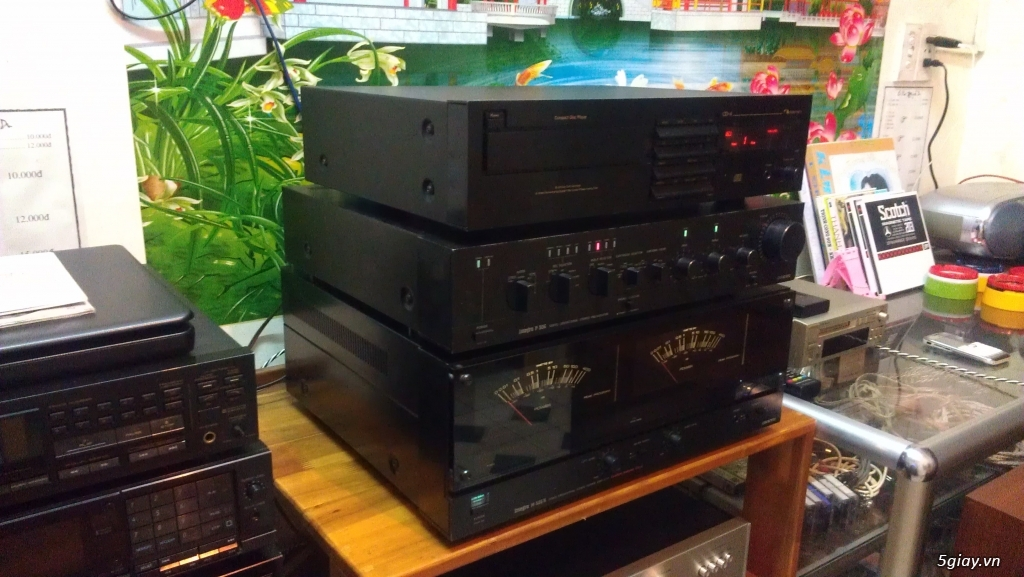 Pre power ONKYO P-306 , M-506R made in japan - 9