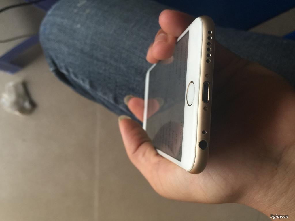Bán nhanh iphone 6 gold 64gb máy phảy nhẹ