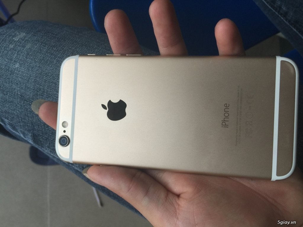 Bán nhanh iphone 6 gold 64gb máy phảy nhẹ - 3