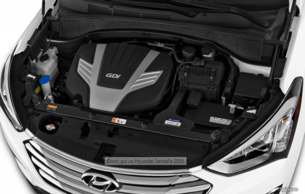 Hyundai SantaFe 2016 - Kiêu hãnh dẫn đầu! - 9