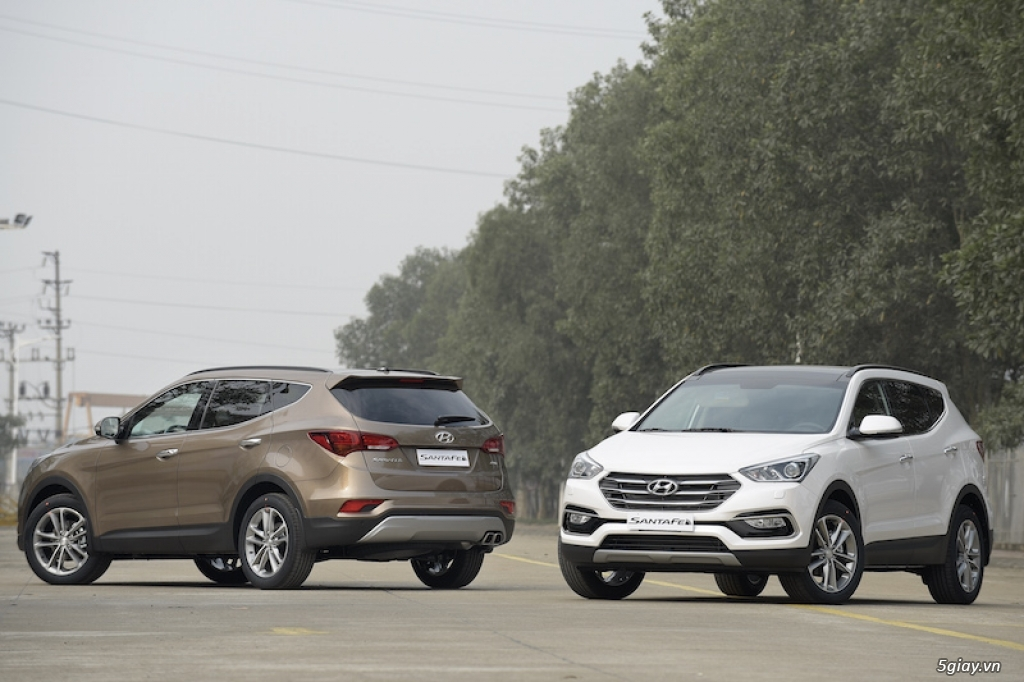 Hyundai SantaFe 2016 - Kiêu hãnh dẫn đầu!