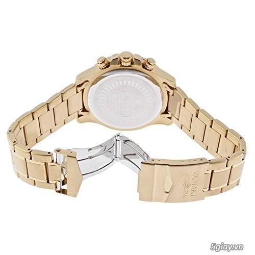 Bán đồng hồ Invicta 14878 chronograph gold rất menly & Pro - 8