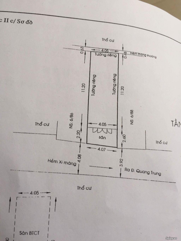 Cần bán nhà ở Quang Trung Gò Vấp giá tốt - 2