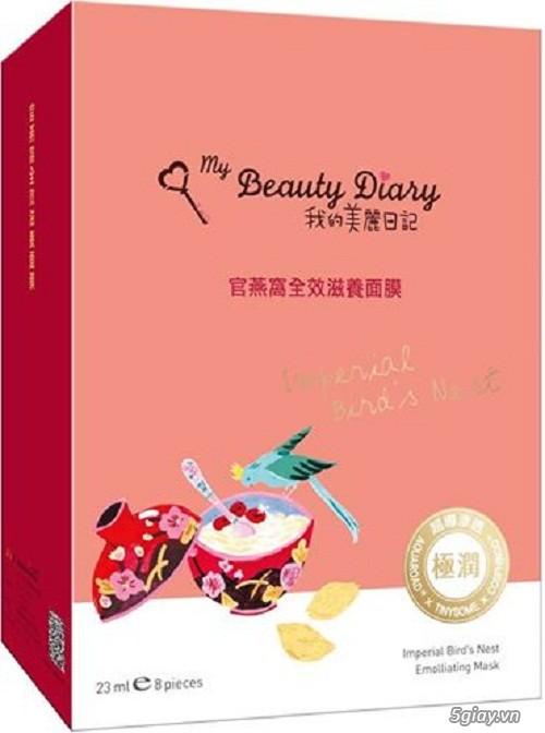 Phân phối sỉ, lẻ mặt nạ My Beauty Diary bán chạy số 1 tại Sing, Malay, Hongkong