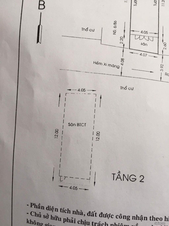 Cần bán nhà ở Quang Trung Gò Vấp giá tốt - 3