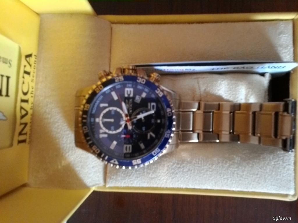 Bán đồng hồ Invicta 14878 chronograph gold rất menly & Pro - 5