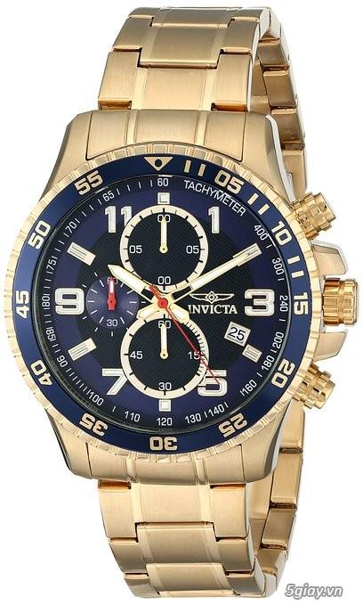 Bán đồng hồ Invicta 14878 chronograph gold rất menly & Pro - 4