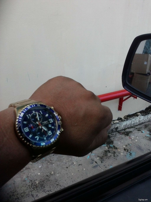 Bán đồng hồ Invicta 14878 chronograph gold rất menly & Pro - 6