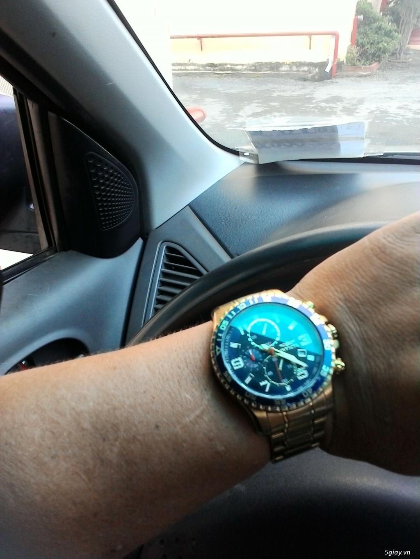 Bán đồng hồ Invicta 14878 chronograph gold rất menly & Pro - 7