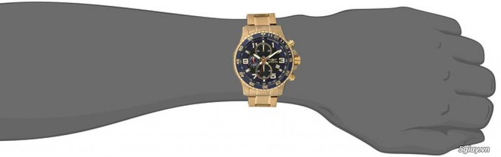 Bán đồng hồ Invicta 14878 chronograph gold rất menly & Pro - 10